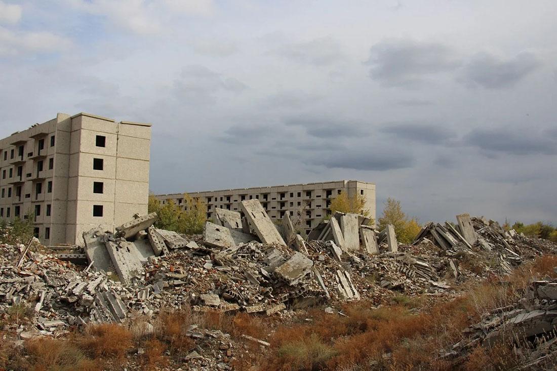 Казахстанская Припять (фото).