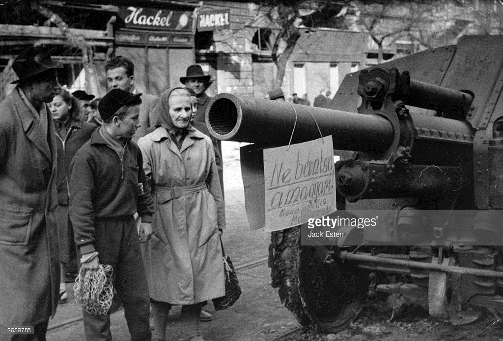 Восстание в Венгрии 1956 года, как это было (фото).