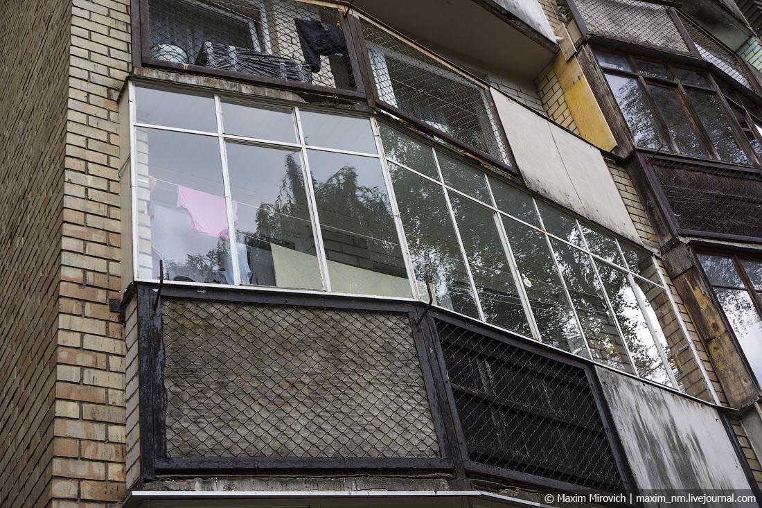 Жилые гетто на окраинах Вильнюса.