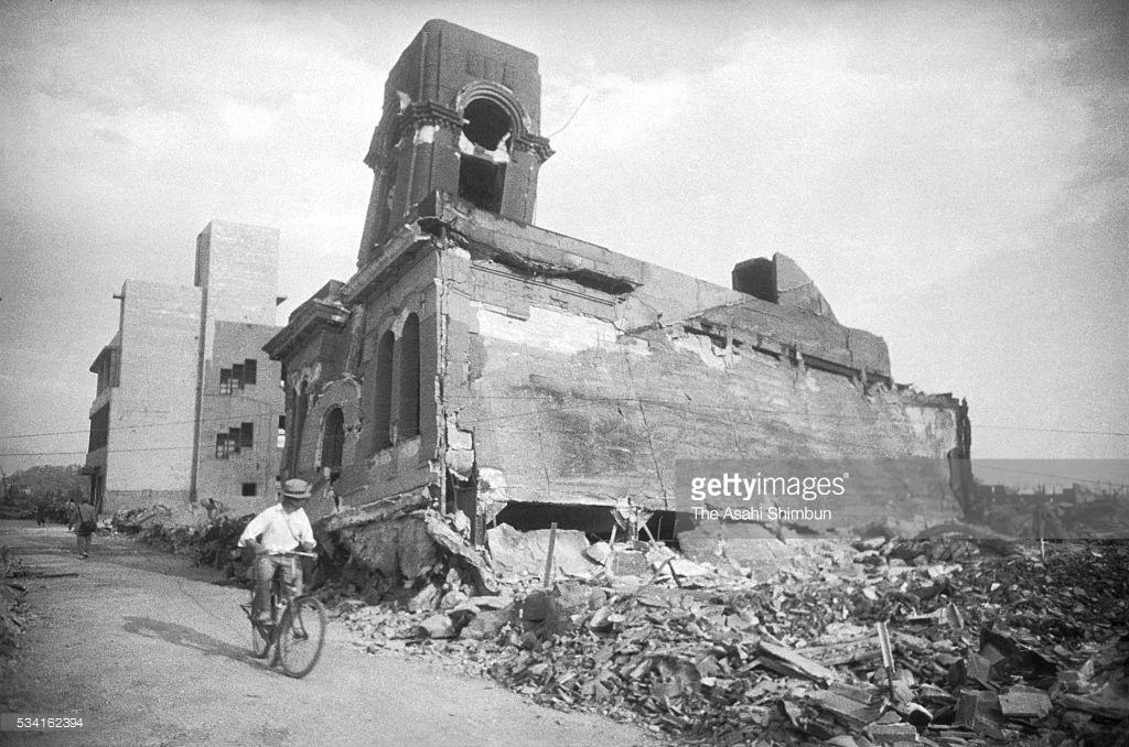 Ядерная бомбардировка Нагасаки, как это было (фото).