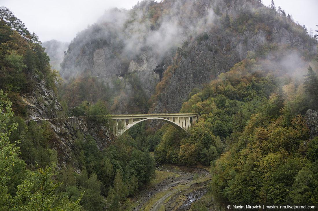 Трансфагараш —самая красивая дорога в Европе.