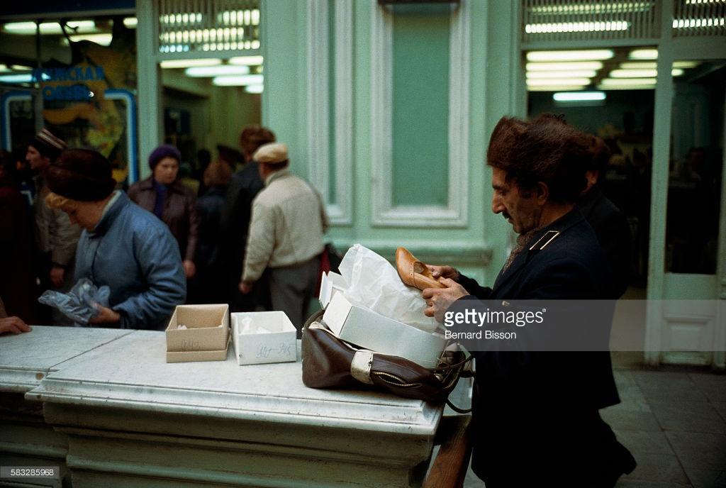 Магазини в СРСР: що було всередині. Фото
