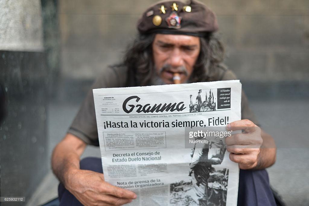 Смерть Фиделя Кастро, реакция соцсетей.