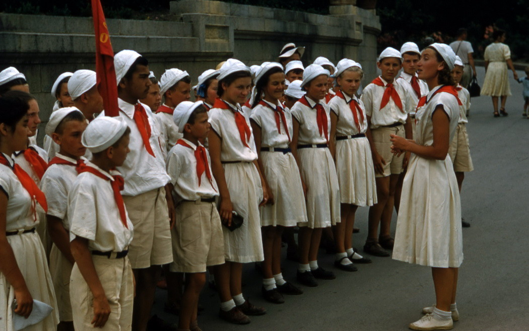 сталинский СССР в цвете