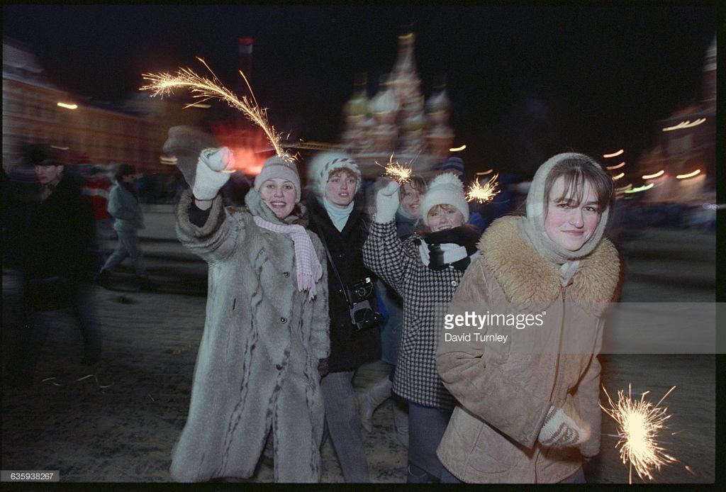 Новый год в СССР, как это было.