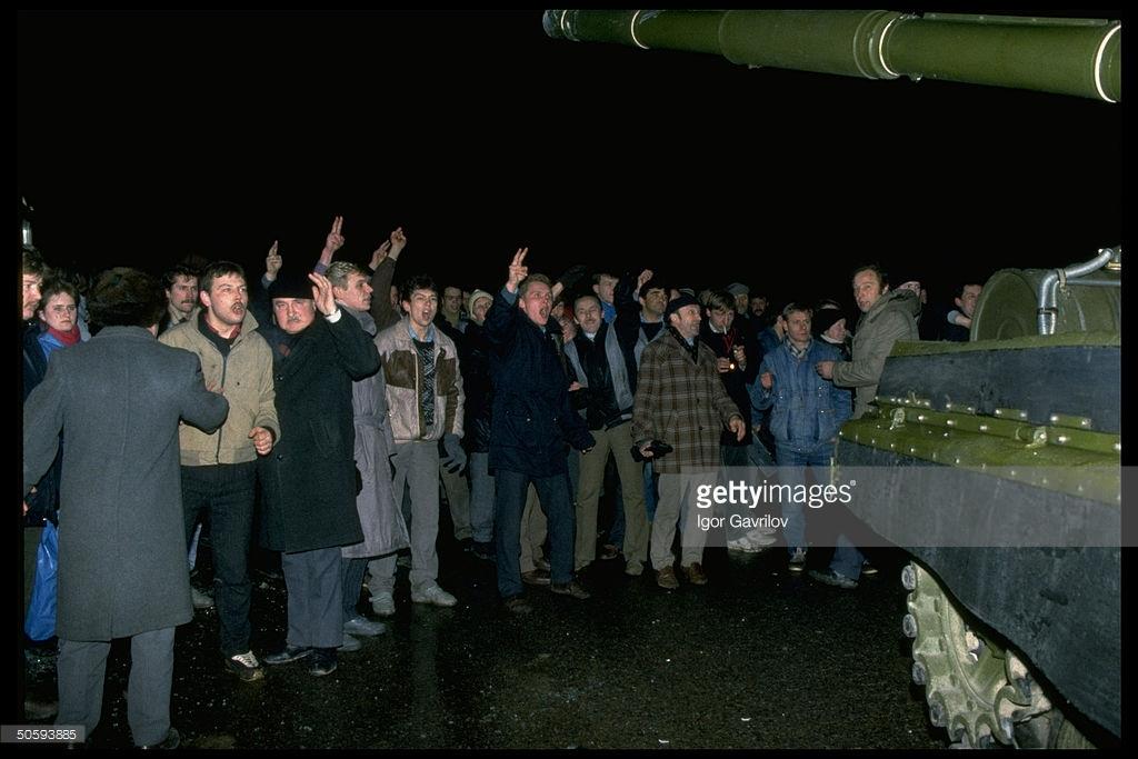 Январские события в Вильнюсе (фото).