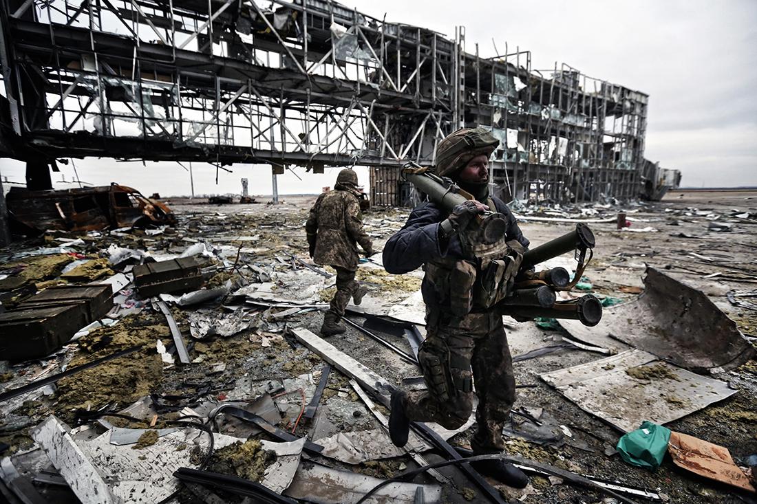 Донецкий аэропорт, как это было (фото).