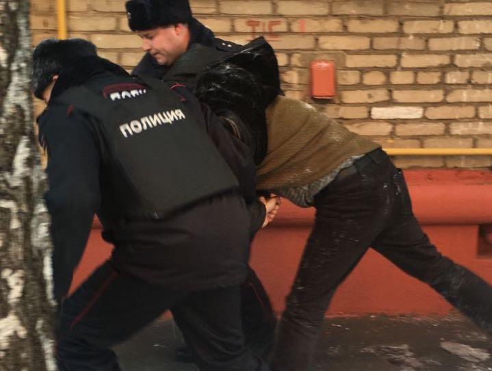 В Москве задержан оппозиционер Марк Гальперин.