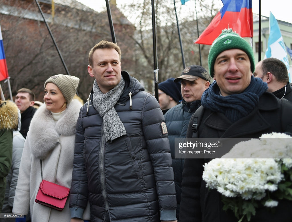 Марш памяти Бориса Немцова (фото).
