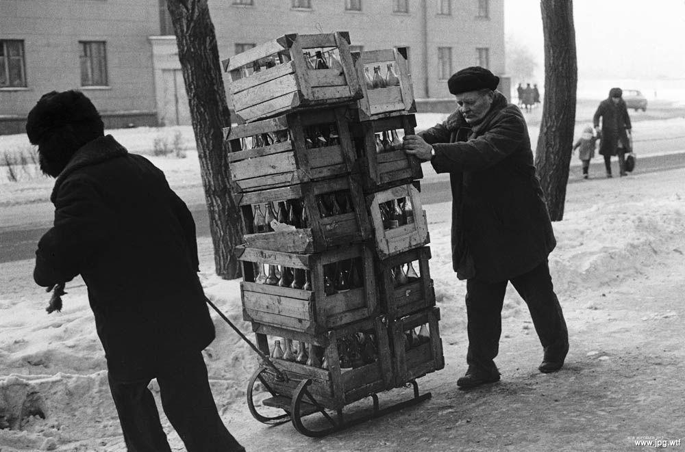 """""""Бутылочный бизнес"""" в СССР."""