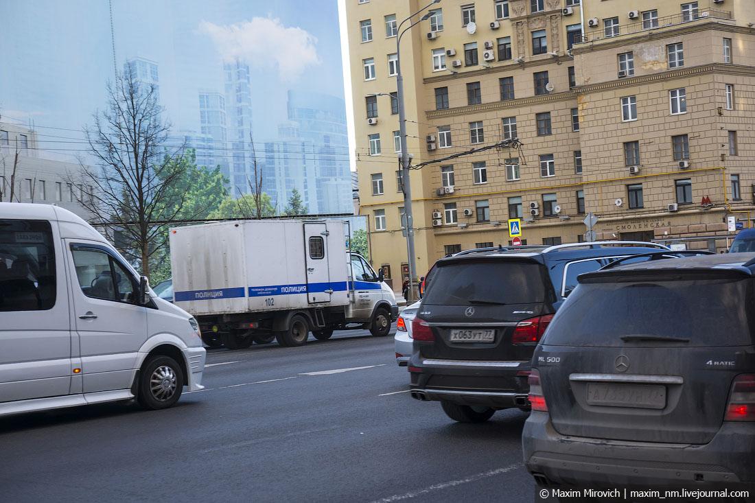 Москва весной 2017 года.