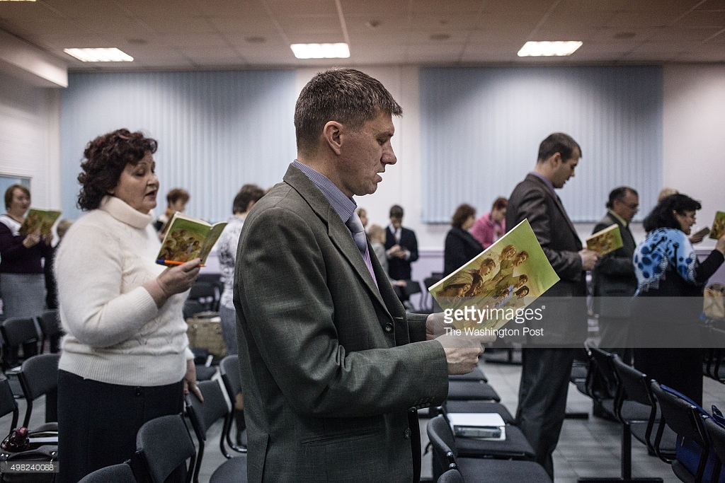 В России запретили «Свидетелей Иеговы».