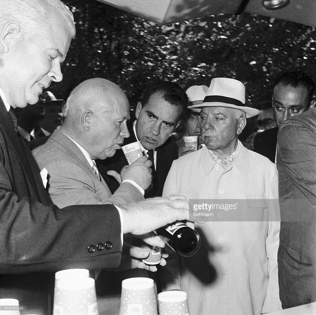 Откуда в СССР появилась пепси-кола