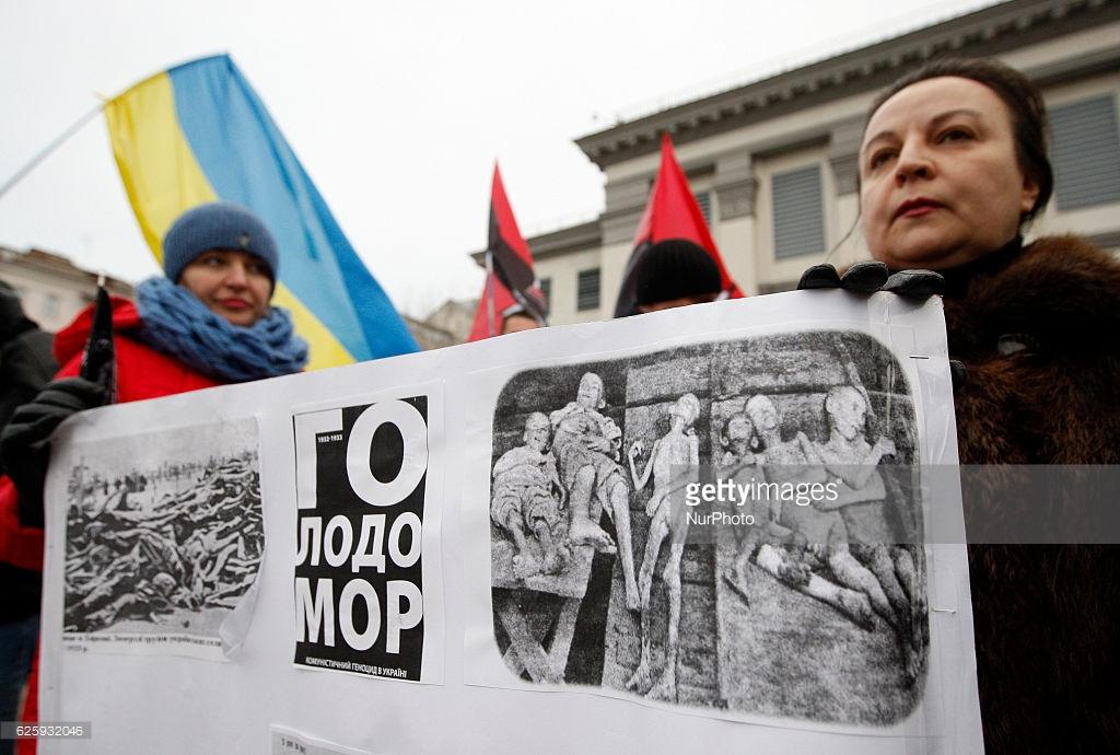 США признали украинский голодомор геноцидом.