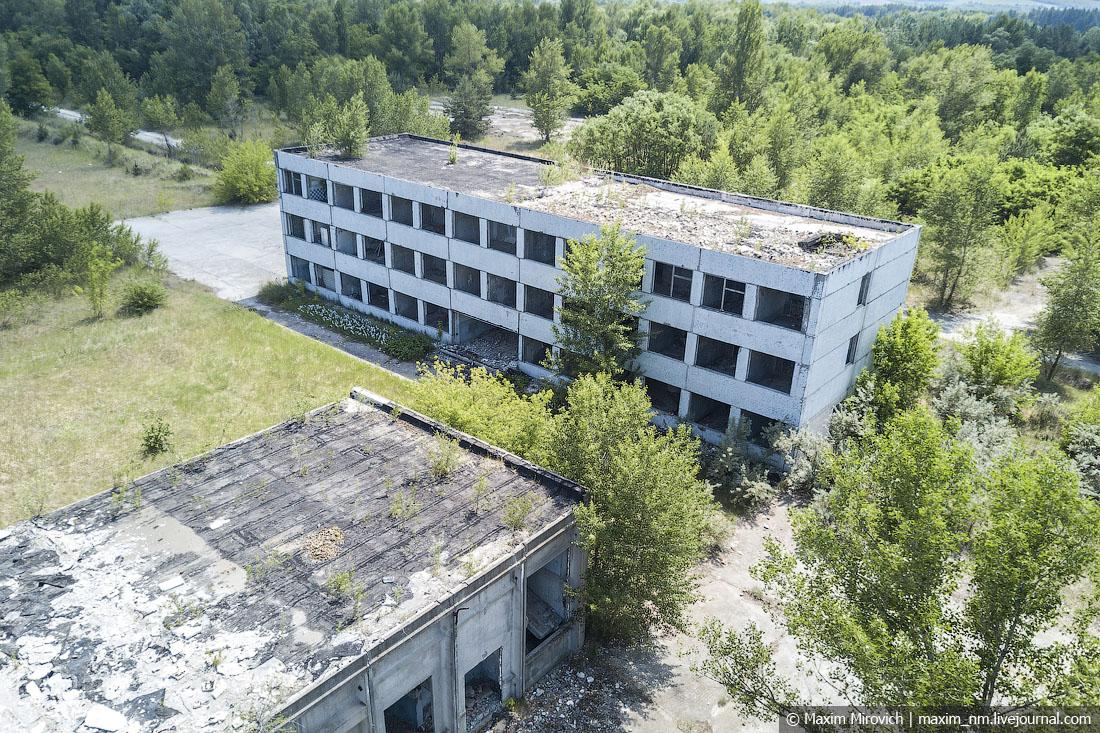 Чигиринская АЭС и брошенный город Орбита.