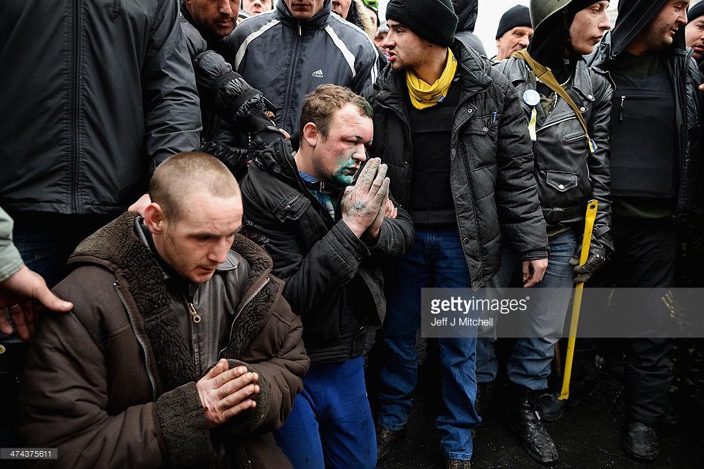 Чем погромы в Гамбурге отличаются от Майдана?