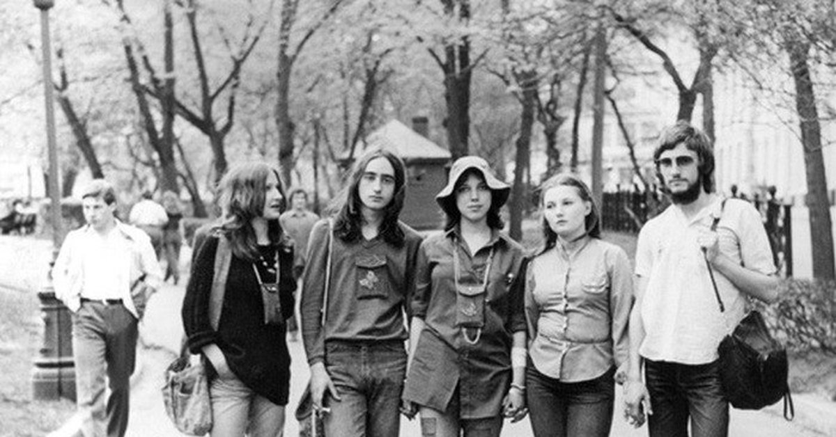 Субкультуры в СССР, как это было.