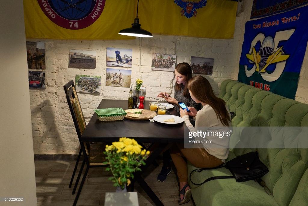 Ресторан во Львове, куда лучше не ходить россиянам.