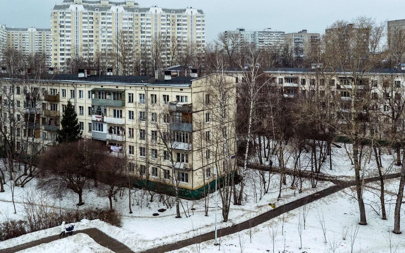 Деградация советской архитектуры. Фото