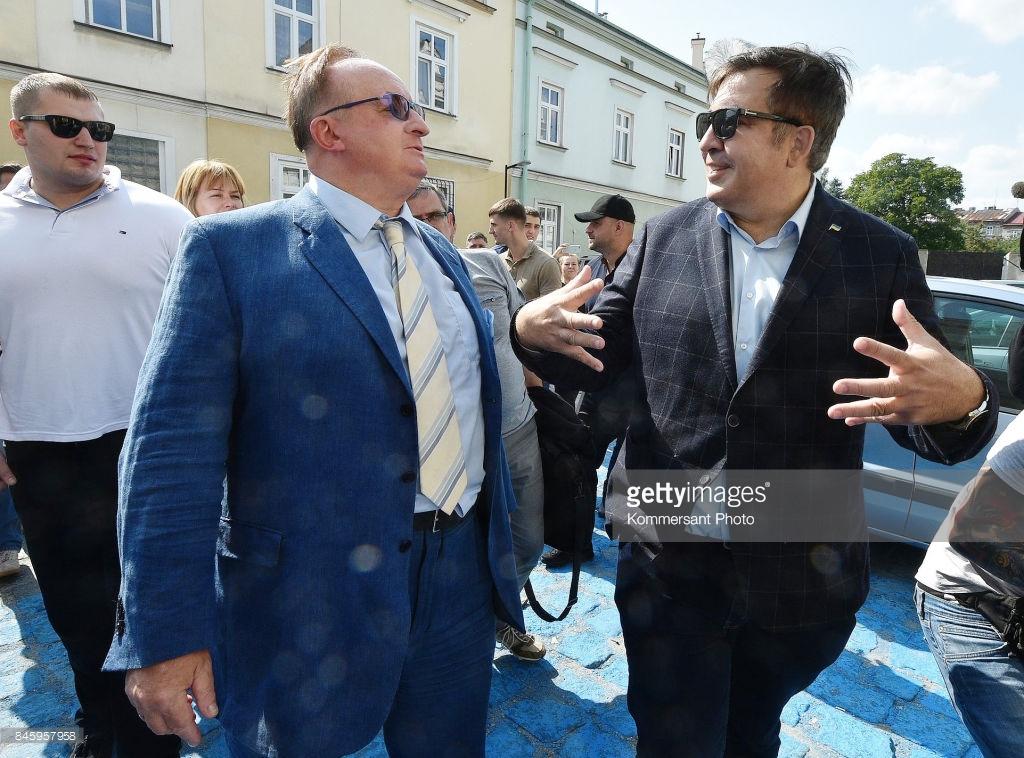 Как Саакашвили Украину разделил.