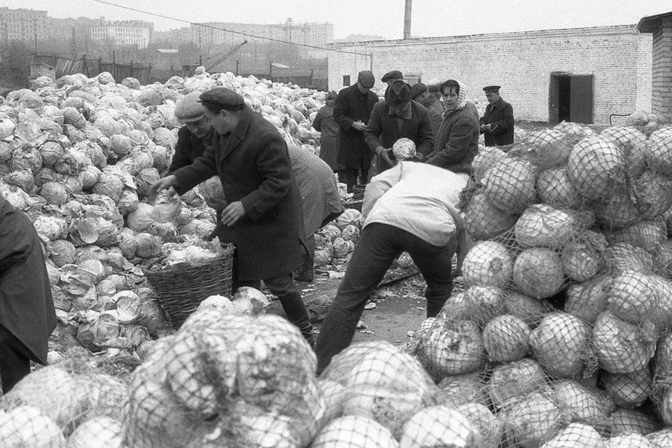 СССР — трудовое рабство и гнилая капуста.