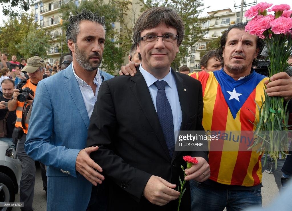 Что сейчас происходит в Каталонии (фото).