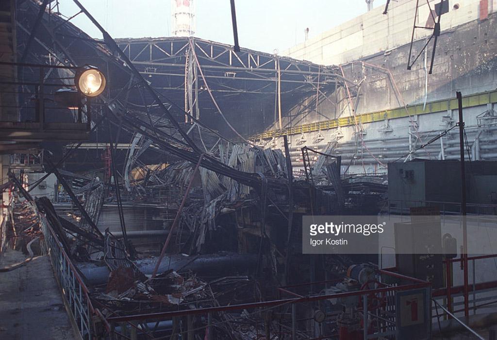 Неизвестная авария в Чернобыле в 1991 году.