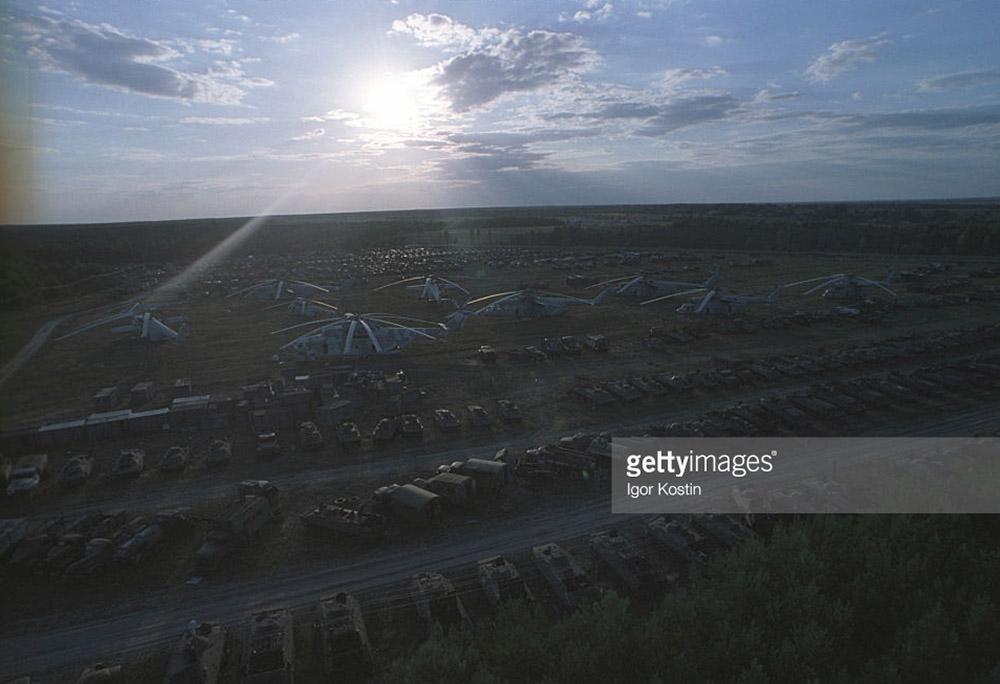 Чернобыльская Зона в девяностые годы (фото).