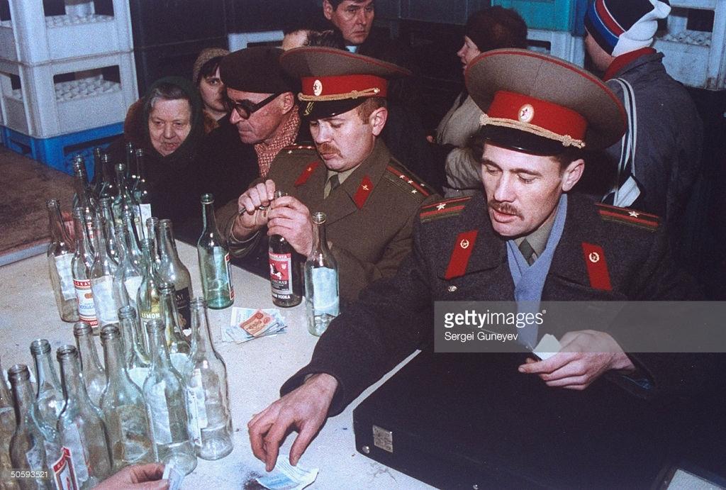 СССР — страна бытовых алкоголиков.