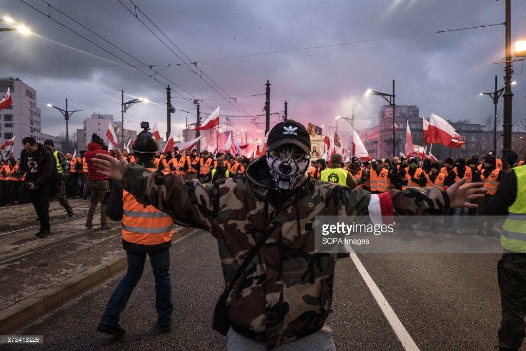 Марш националистов в Польше — «вернём Вильно и Львов!»