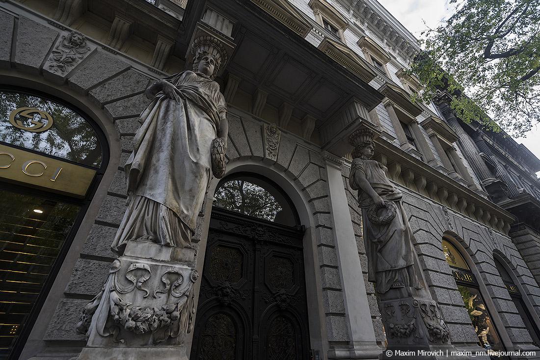 Квартиры старого Будапешта.