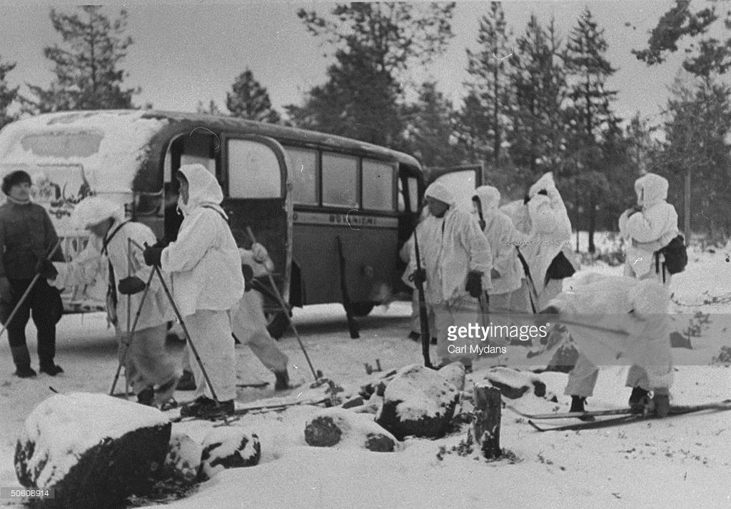 Как СССР напал на Финляндию (фото).