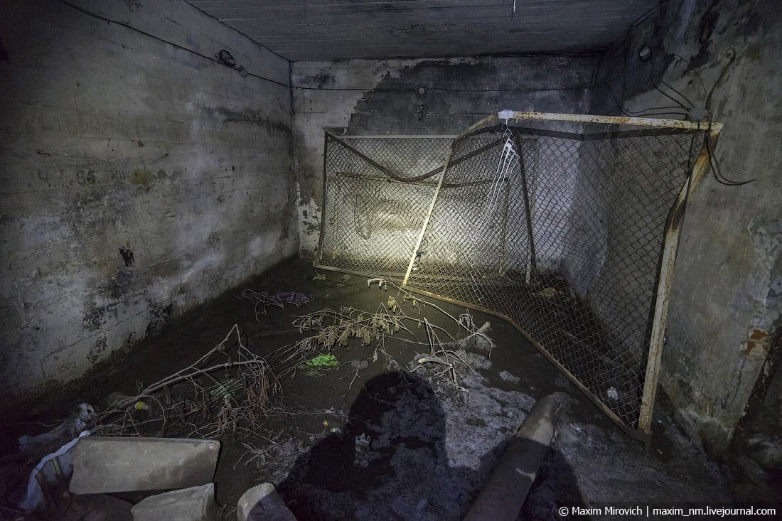 Секретный немецкий бункер в центре Минска.