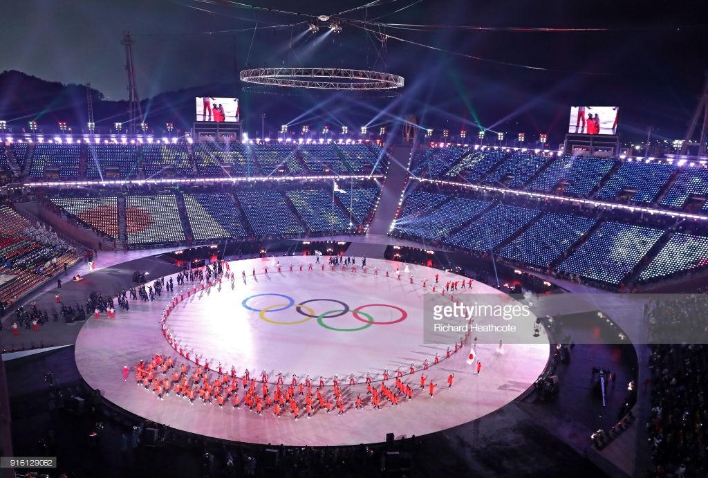 Россия без опознавательных знаков на Олимпиаде (фото).