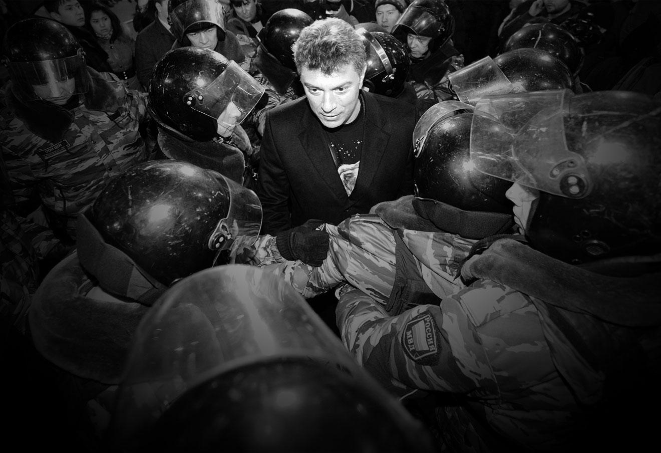 Сегодня убили Бориса Немцова.