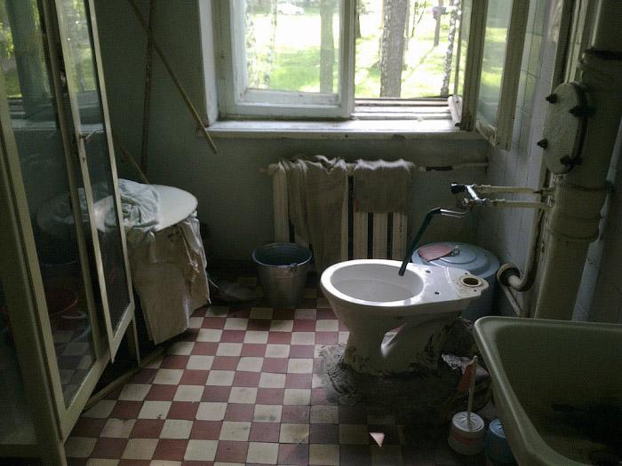 Почему в России такие страшные больницы (фото).