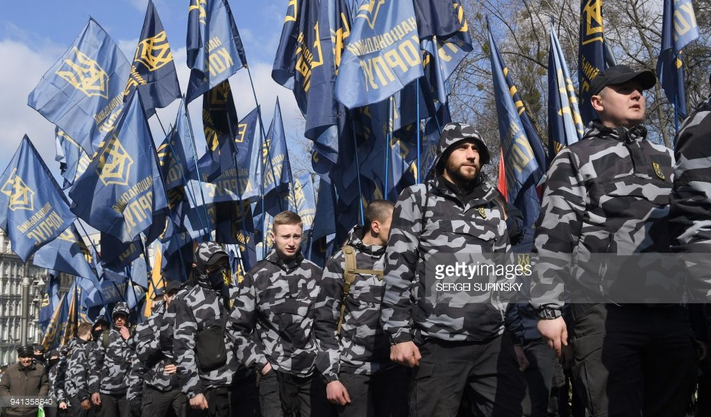 Ultra-right marching in Kiev (photo). march, oligarchs, Freedom, Participants, far right, parties, parties, Subscribe, about, man, Column, interestingly, also, stadium, participants, thousands, leaders, Kiev, friends, Dynamo