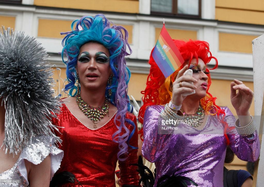 Гей-парад в Киеве, подорвавший пуканы (фото).