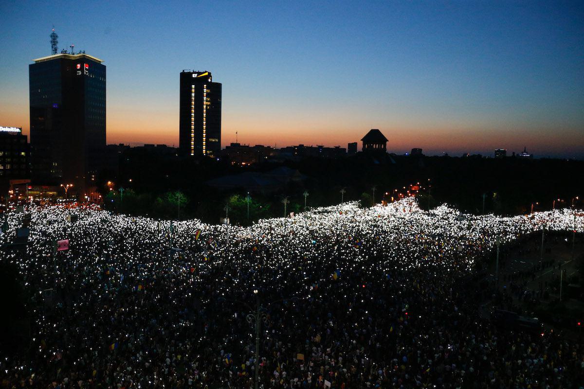В Румынии начался Майдан corruption