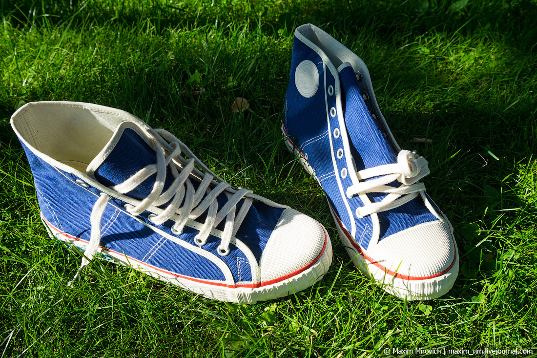 """""""Two balls"""" - the same sneakers from the USSR.Shoe, shoes, such, sneakers, balls, very, very, who, now, size, attention, times, China, laces, friends, see, new, almost, shape, inside"""