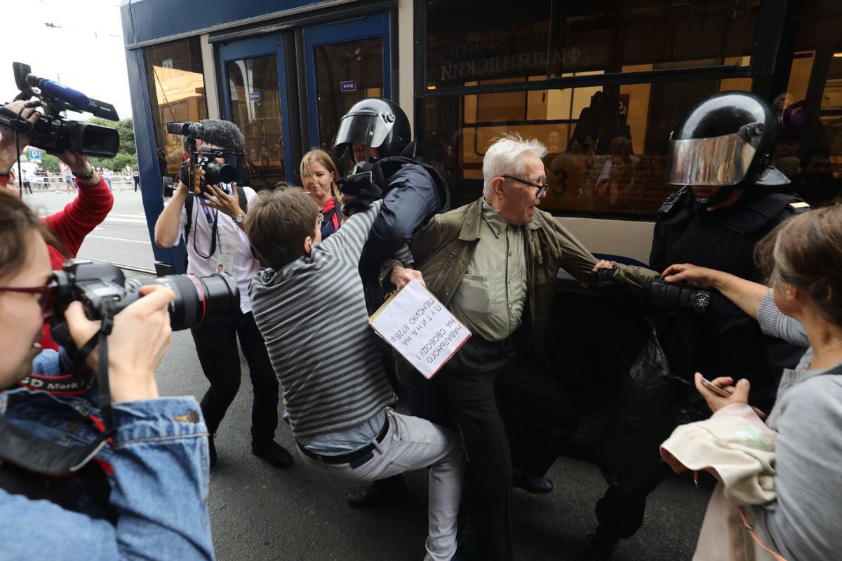Всё. Российского протеста больше нет. россия