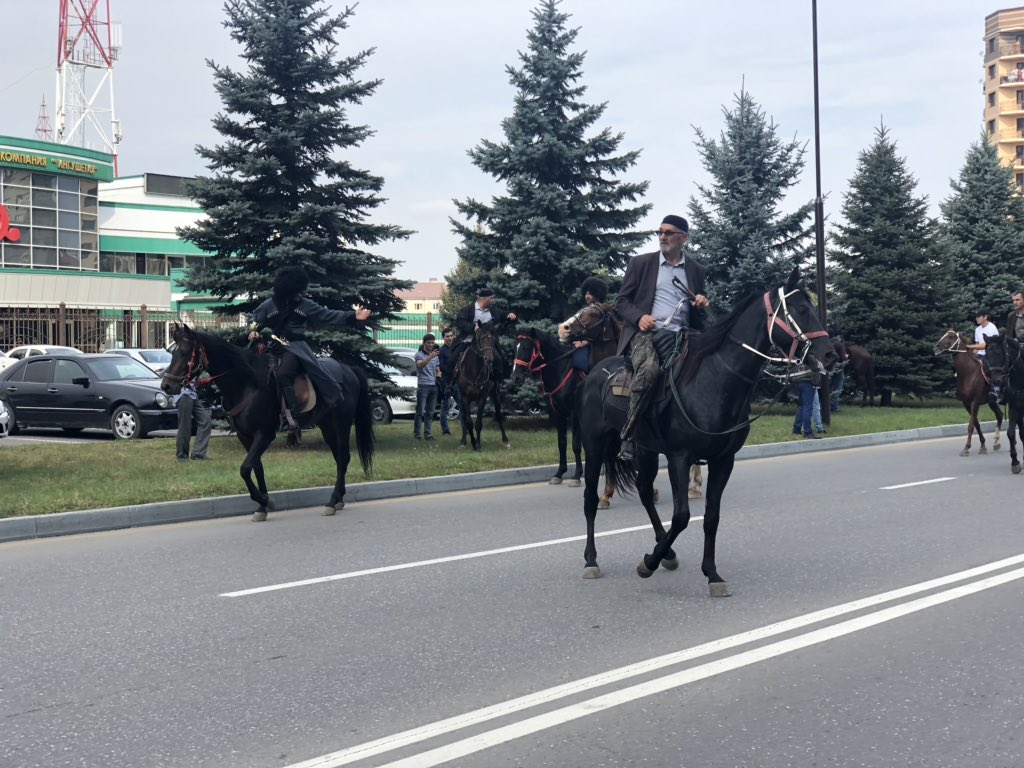 What is happening in Ingushetia now? Ingushetia, city, streets, steel, Magas, Subscribe, thousand, now, man, Rosguards, parliament, words, treaty, border, Yevkurov, Chechnya, Chechnya, end, happening, Be sure
