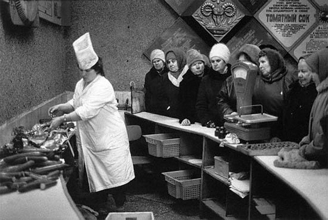 Новий рік в СРСР - гонитва за дефіцитом