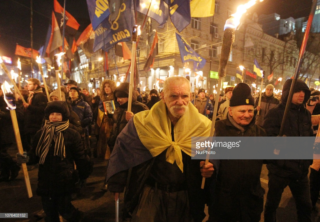Что в Украине устроили в день рождения Бандеры.