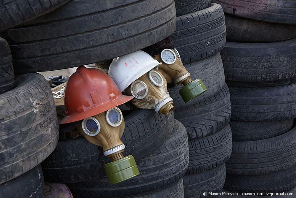 Зачем на Евромайдане носили кастрюли?