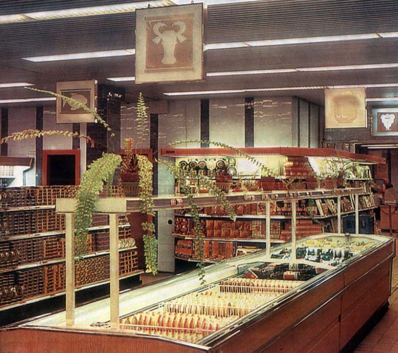 Фальшивые фото советских магазинов. быт