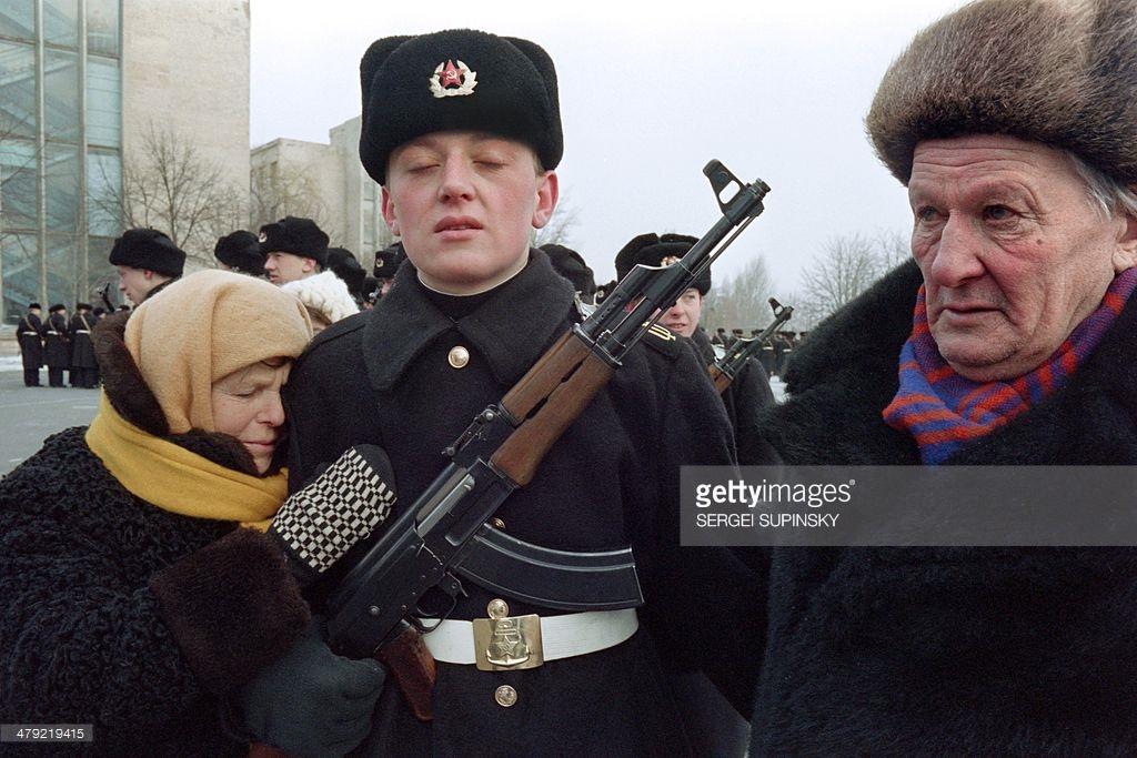 Как жил Киев во времена СССР (фото).