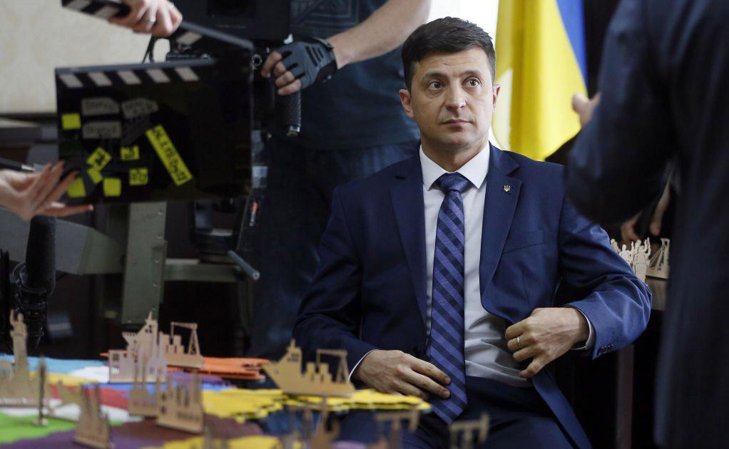 Как для Украины придумали президента.
