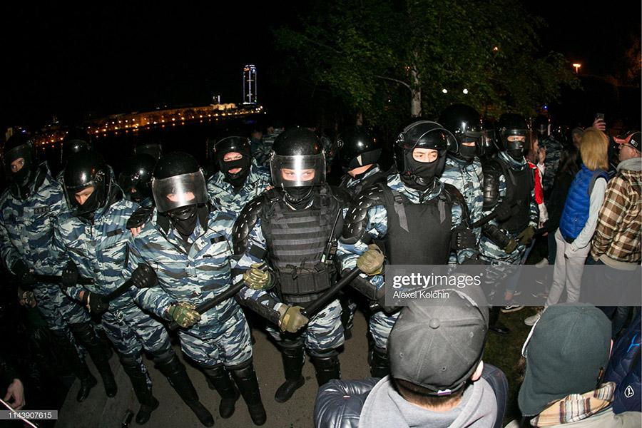 В России началось! Протесты в Екатеринбурге.