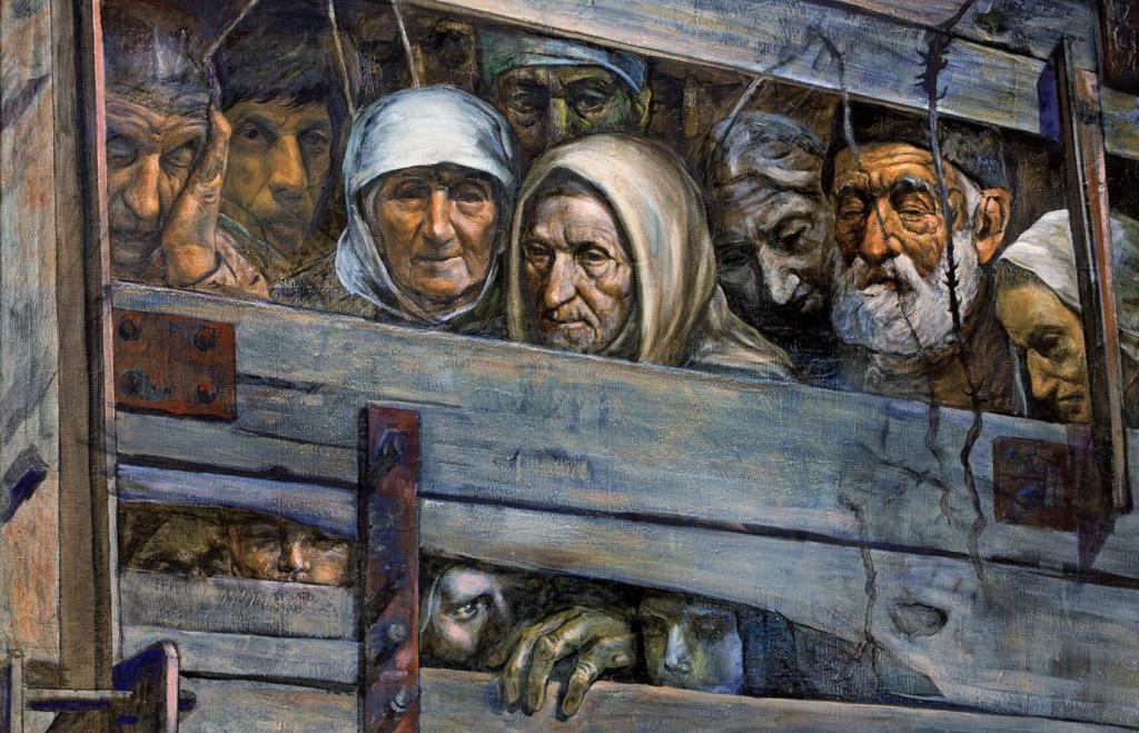 Как Сталин депортировал крымских татар.